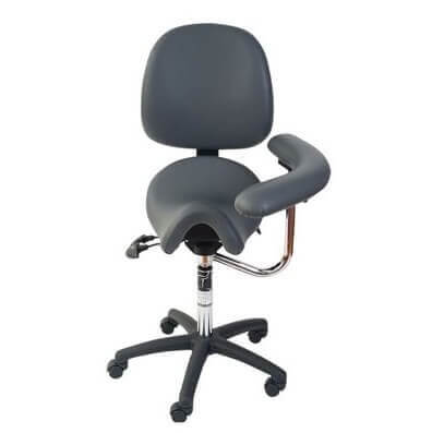 Bambach Saddle Seat With Backrest And Swing Arm