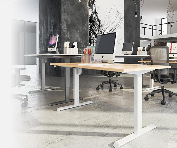 Back Centre Office Chairs Desks Amp Adjustable Electric Desks