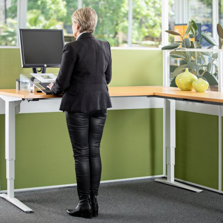 501-43 Medium Duty Corner Desk