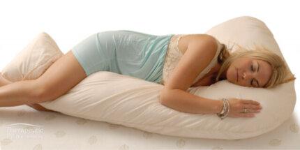 Lucky 7 Body Pillow - Full Support Pregnancy Pillow