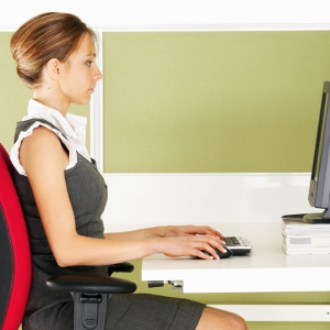 Proper Sitting Posture at Desk