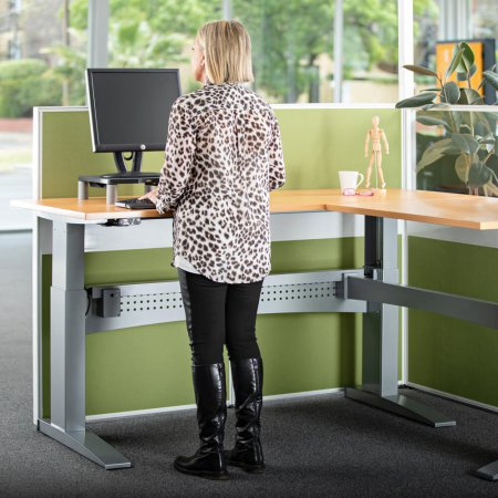 Heavy Duty Corner Adjustable Standing Desk
