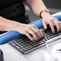 Aurora Gel Keyboard Wrist Support