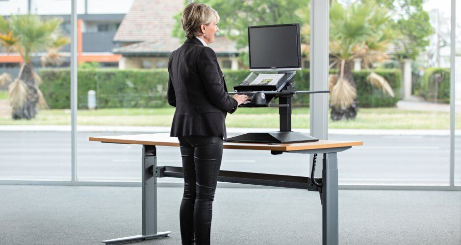 Standesk Sit Stand Workstation