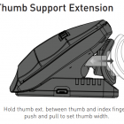 OPC Unimouse - Thumb Support