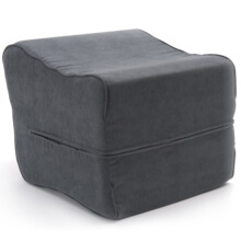 legs up vinyl footstool