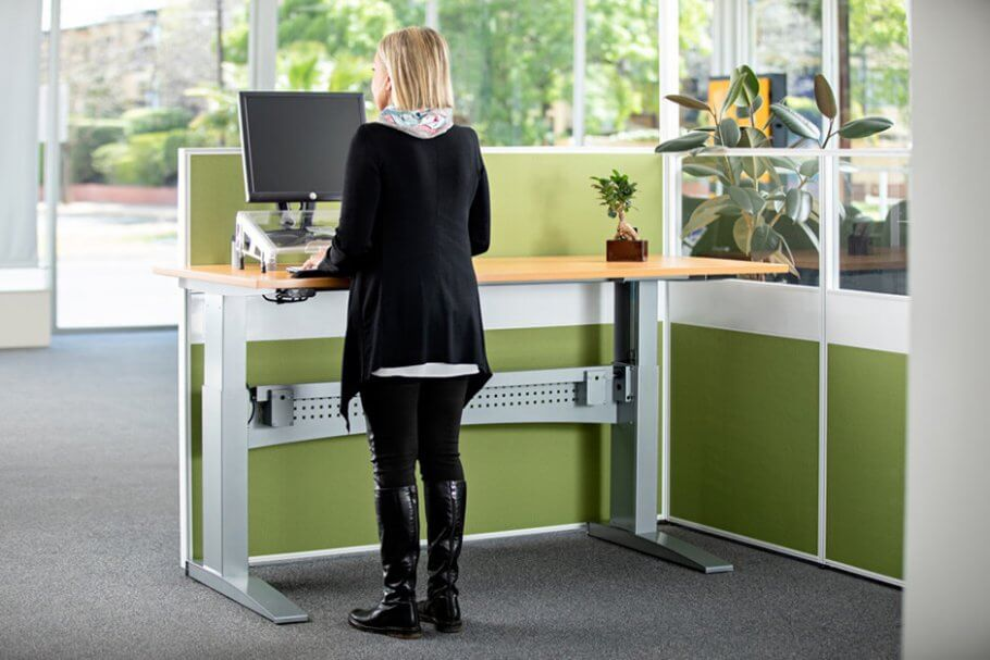 Standing Desk Back Center