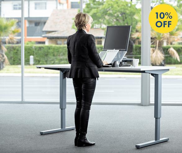 Medium Duty Adjustable Standing Desk