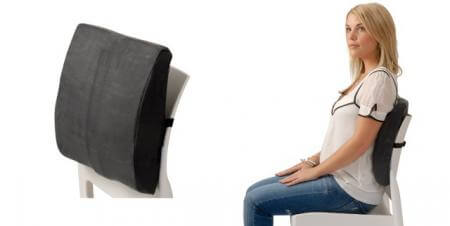 Back Huggar Traditional Foam - lower back pain support
