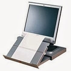 Compact Slideaway Document Holder