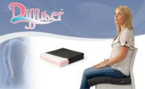 Diffuser Cushion   Memory Foam Therapeutic Cushion