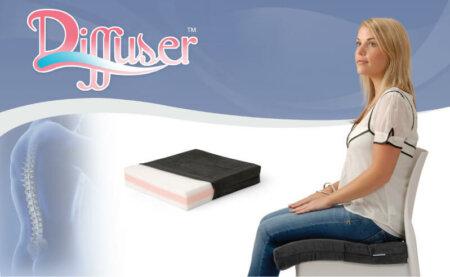 Diffuser Cushion | Memory Foam Therapeutic Cushion