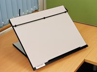 Ergo-tilt  Portable Desk Slope Range
