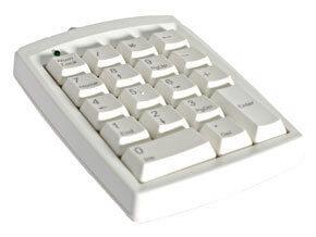 Gold Touch Numeric Keypad - U S B