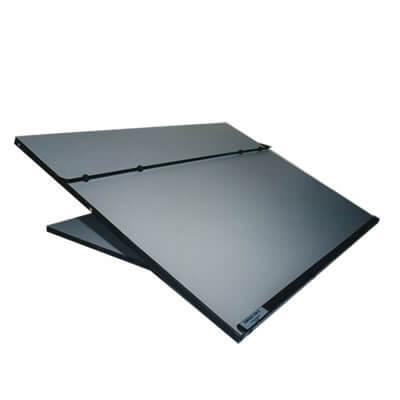 Ergo-tilt  Portable Desk Slope Range