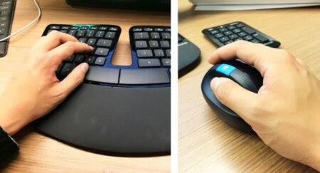 Microsoft Sculpt Keyboard, Numeric keypad & Mouse