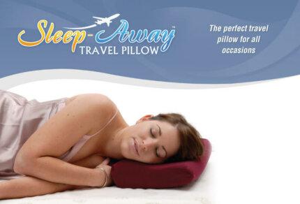Sleep Away Pillow With Slip
