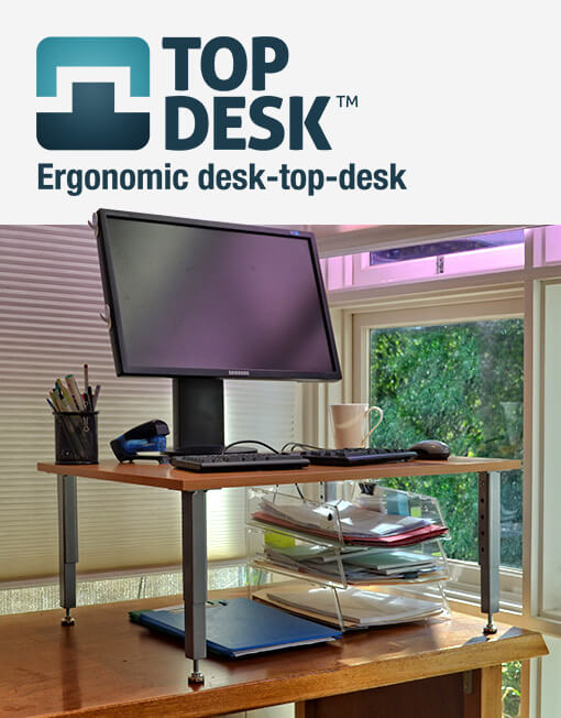 TopDesk Adjustable Standing Desk