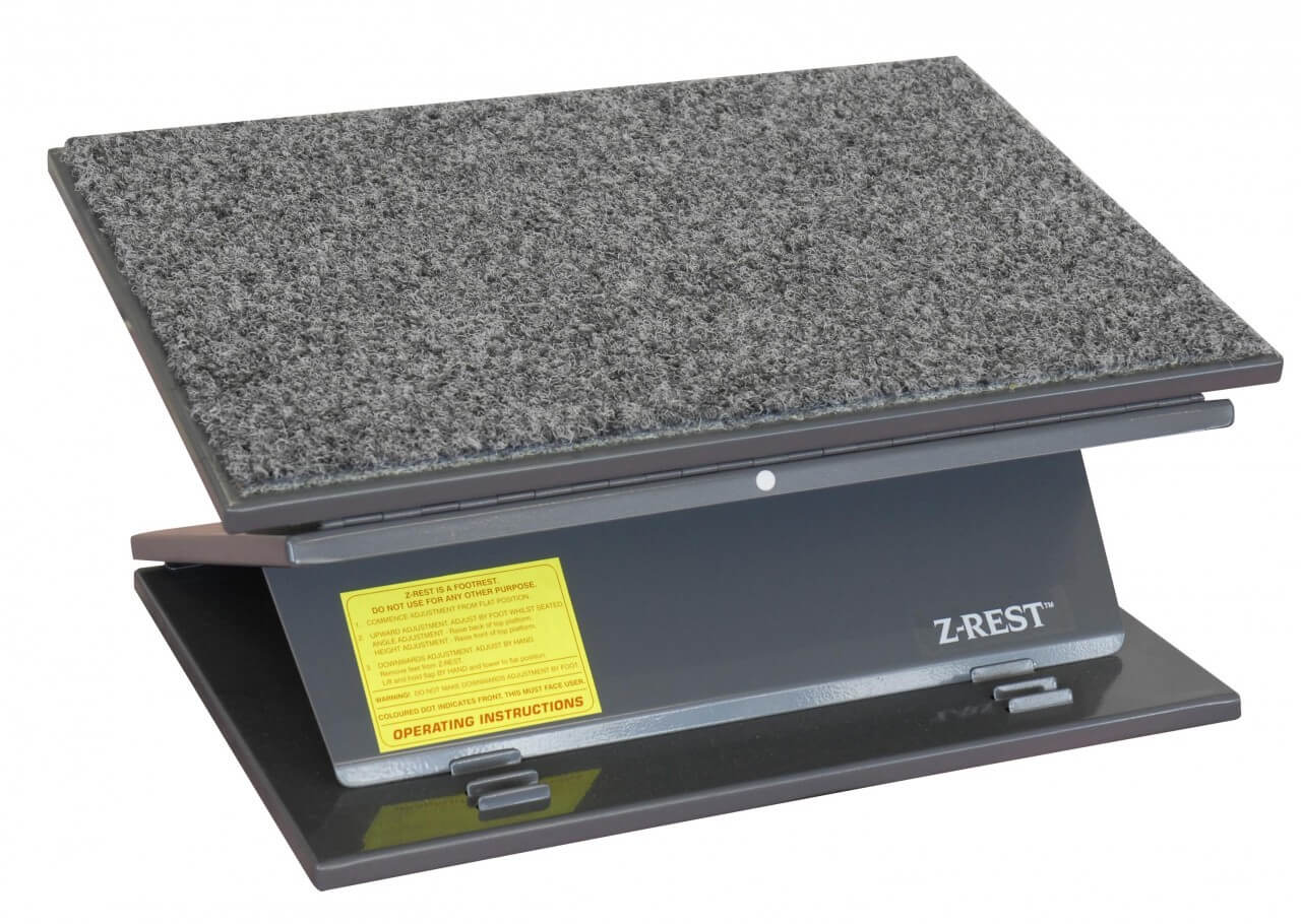 Z-rest Ergonomic Metal Foot Rest